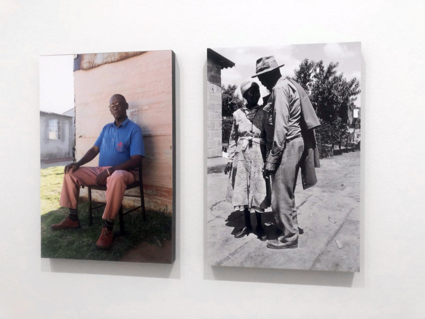 Installation view Welkom Today – Ad van Denderen, Lebohang Tlali and many others, 2019, Stedelijk Museum Amsterdam