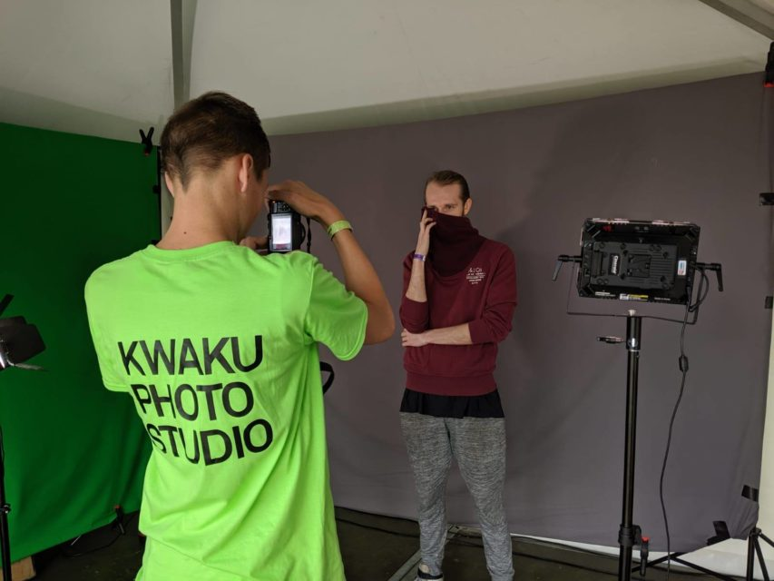 Kwaku Photo Studio at Kwaku Summer Festival, Amsterdam Zuidoost, 2019