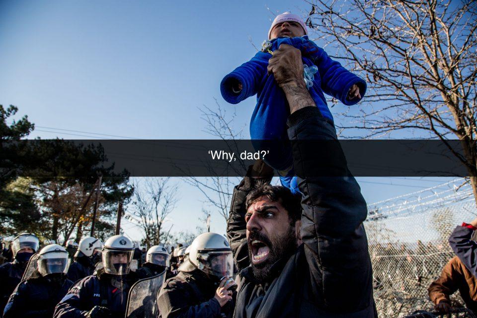 Still from Borders Kill, Nikos Pilos