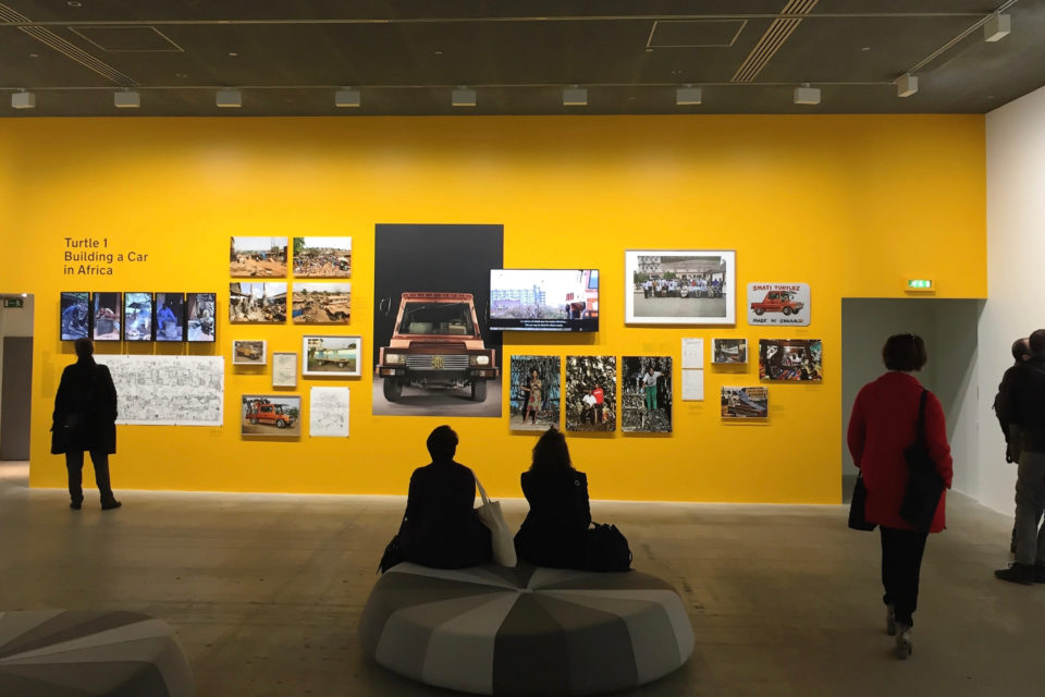 Installation Turtle 1 at Fondation Cartier, Paris (2017).