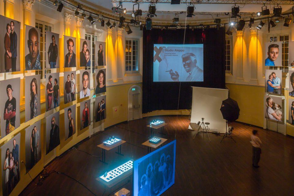 Monumental portrait gallery Studio Aleppo [Amsterdam] at Felix Meritis