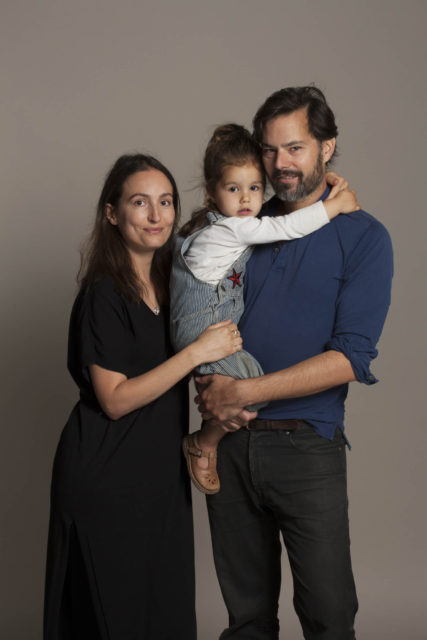 Alja, Wilpert and Mia, Studio Aleppo [Amsterdam]