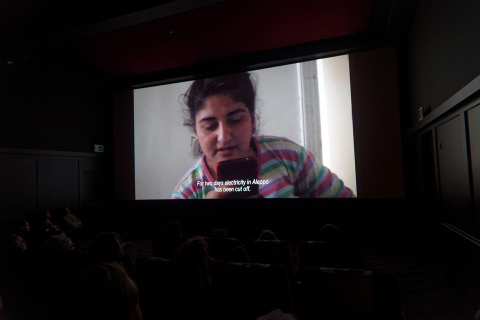 Avant première Greetings from Aleppo at IFFR in 2017