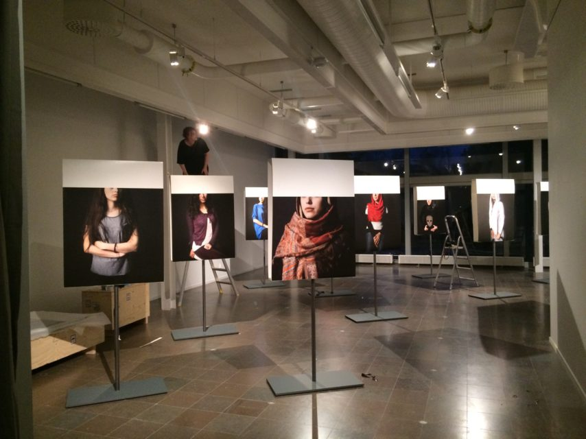 Sneak peek! Women We Have Not Lost Yet in Konstcentrum Gävle, until 5 March 2017.