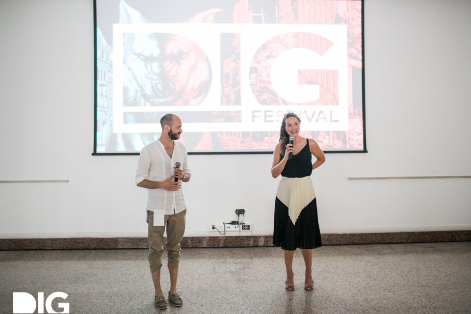Q&A with Floor van der Meulen at DIG Festival, Riccione (IT) in June 2017.