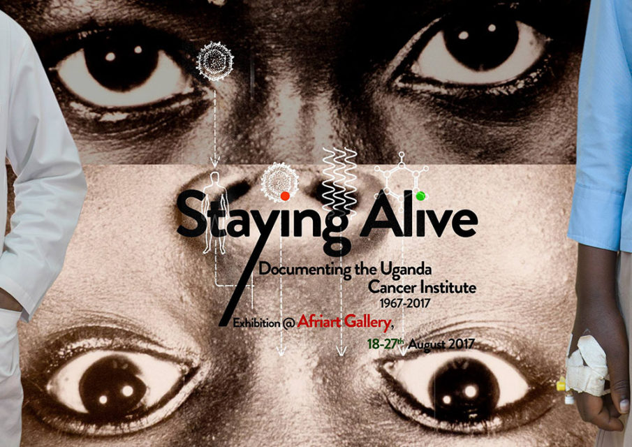 Poster exhibition Staying Alive at Afriart Gallery
