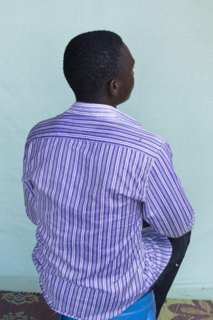 Kassoum, 17 years old.
