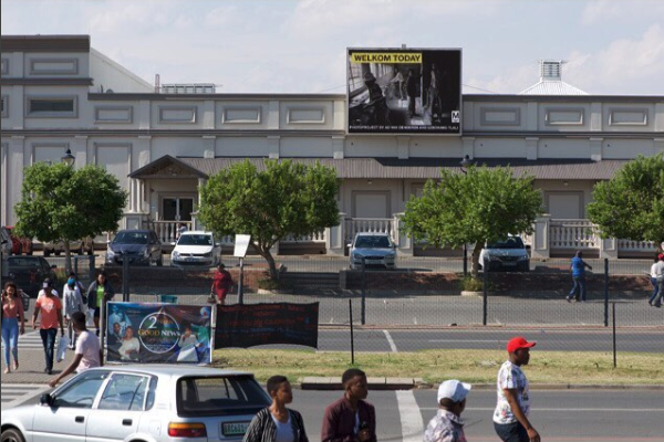 eam Welkom Today has managed to glimpse into the billboard publicity wall in the centre of the city. Slides containing Ad van Denderen's early images shot in Welkom during the beginning of the nineties.