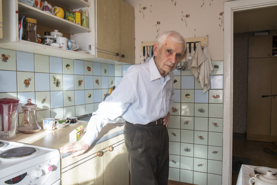 Vadim Maksheyev lives in Tomsk. He was deported in 1941 from Estonia, together with his parents and sister.