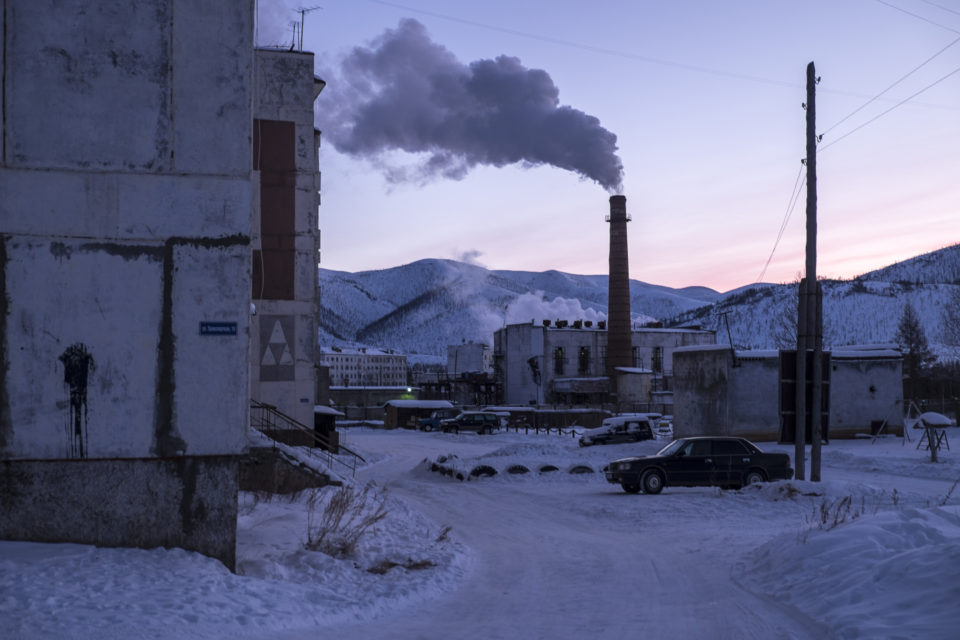 The small city Yagodnoye in Kolyma.