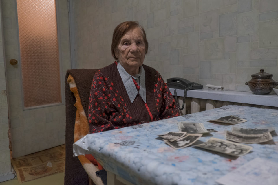 Antonia Novosad served a ten-year sentence as a political prisoner in a gulag camp in Magadan, in the region of Kolyma.