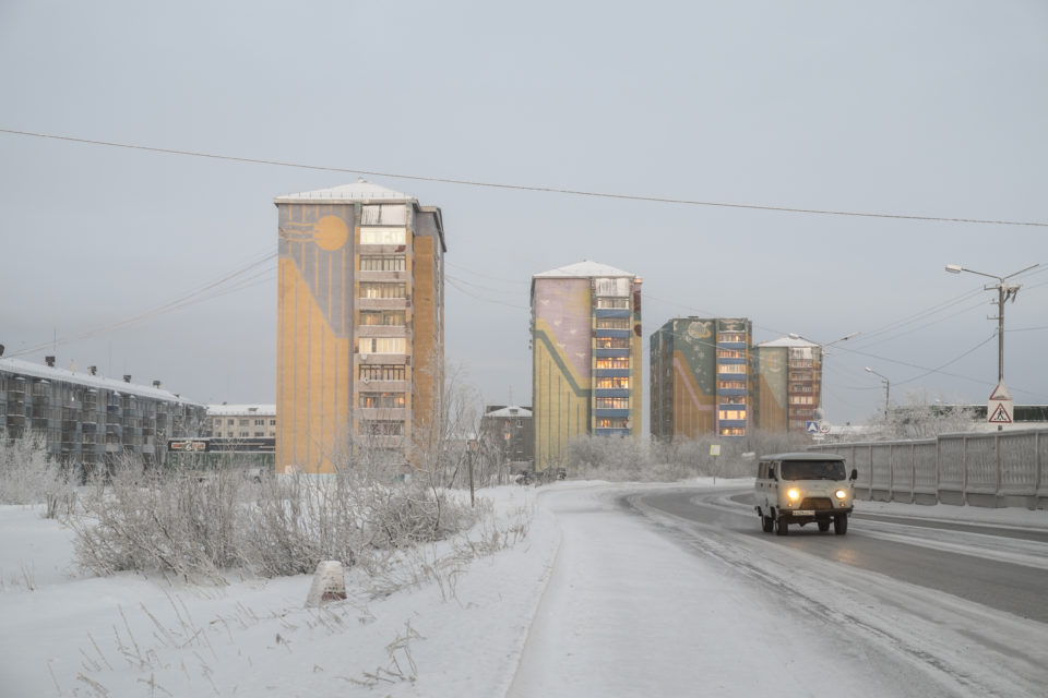 The city Vorkuta is built on the remains of the biggest gulag complex in the European part of the Soviet Union.