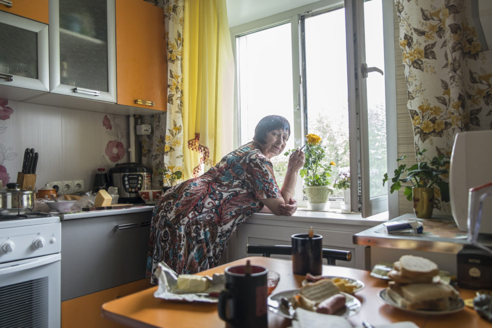 Galina Ivanovna recently discovered that her parents were deported from Bulgaria and that she herself was born in exile.  Galina prefers not to tell people that she is a daughter of 'enemies of the people'.