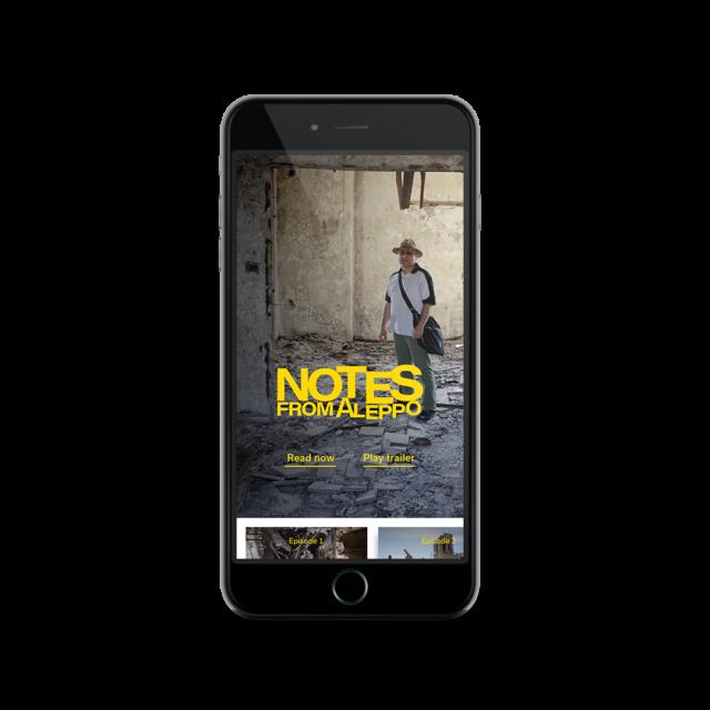 App optimized for mobile