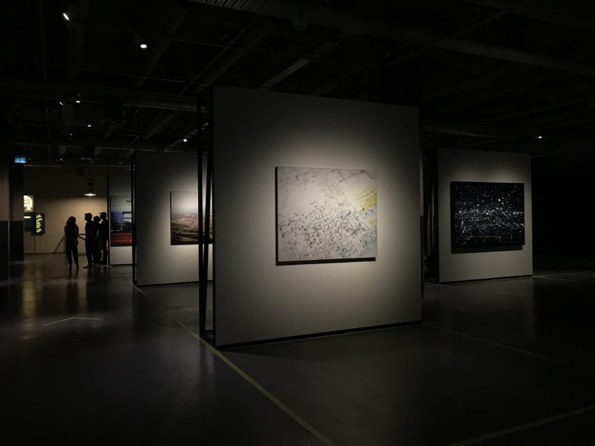 Selection of photo- and video works in the second half of the exhibition