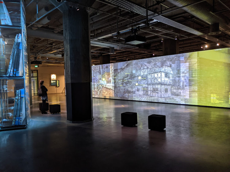 NOWHERE video wall